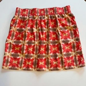 J. Crew Patterned Sidewalk Skirt